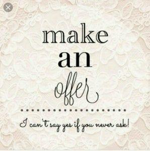 Mqke an offer